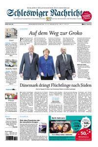 Schleswiger Nachrichten - 13. Januar 2018