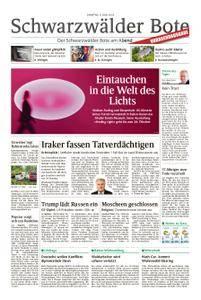Schwarzwälder Bote Blumberg - 09. Juni 2018