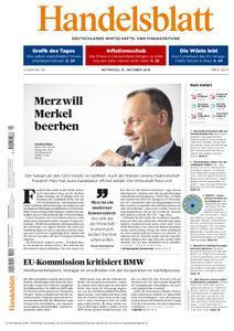 Handelsblatt - 31. Oktober 2018