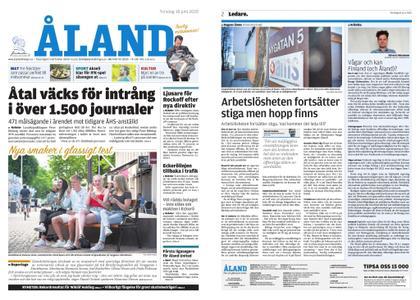 Ålandstidningen – 18 juni 2020