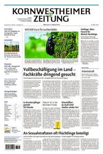 Kornwestheimer Zeitung - 31. Oktober 2018