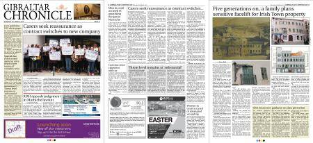Gibraltar Chronicle – 15 March 2018