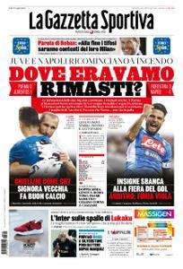 La Gazzetta dello Sport – 25 agosto 2019