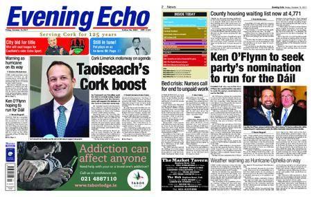 Evening Echo – October 13, 2017