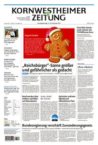 Kornwestheimer Zeitung - 15. Dezember 2018