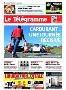 Le Télégramme Brest Abers Iroise – 03 décembre 2019