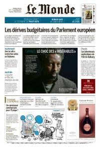 Le Monde du Vendredi 17 Mai 2019