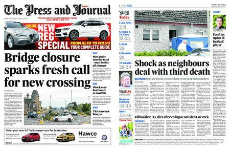 The Press and Journal Moray – August 23, 2017