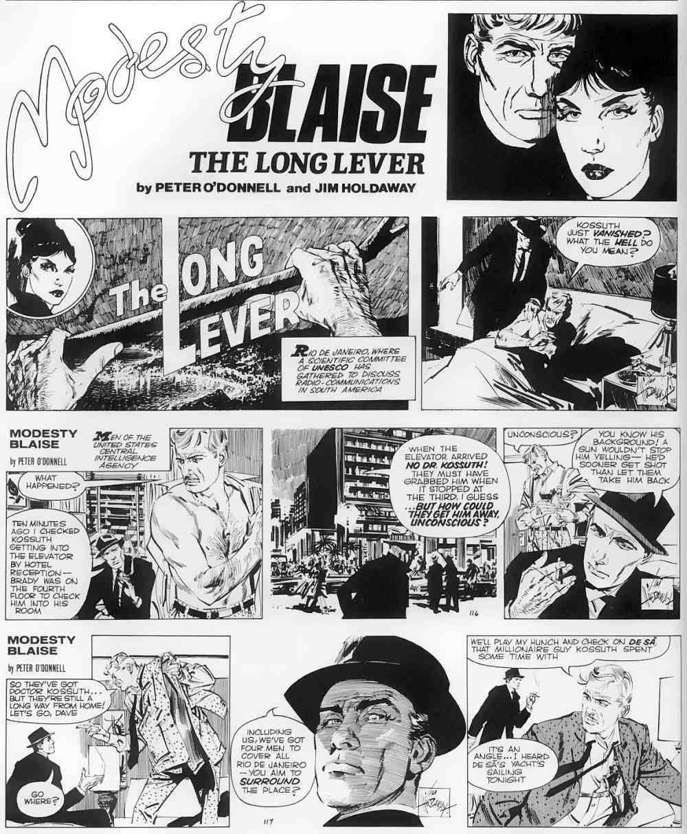 Modesty Blaise NP - 02 - The Long Lever