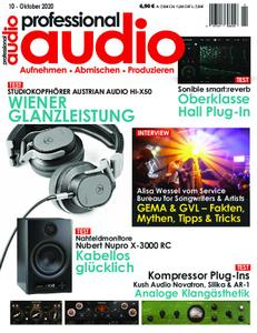 Professional Audio – Oktober 2020