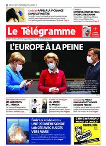 Le Télégramme Ouest Cornouaille – 21 juillet 2020