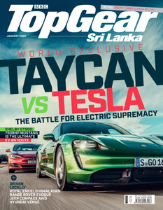 BBC Top Gear Sri Lanka - January 2020
