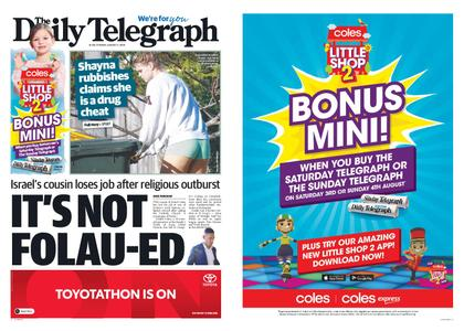 The Daily Telegraph (Sydney) – August 02, 2019