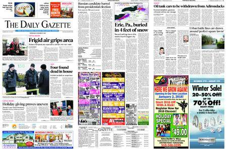 The Daily Gazette – December 27, 2017