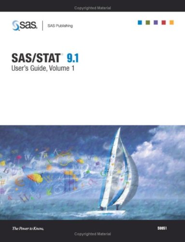 SAS/STAT 9.1 User's Guide