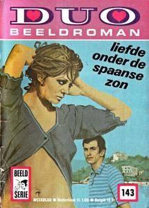 Duo Beeldroman - 143 - Liefde Onder De Spaanse Zon