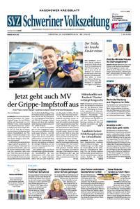 Schweriner Volkszeitung Hagenower Kreisblatt - 27. November 2018