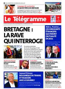 Le Télégramme Ouest Cornouaille – 02 janvier 2021