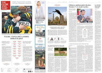The Globe and Mail – April 09, 2018