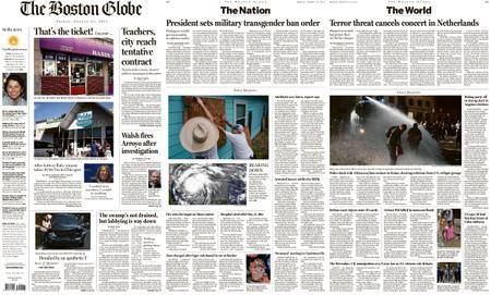The Boston Globe – August 25, 2017