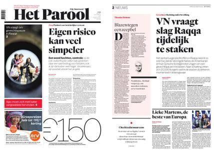 Het Parool – 25 augustus 2017