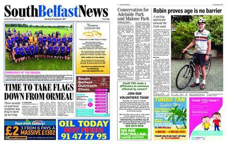 South Belfast News – September 21, 2017