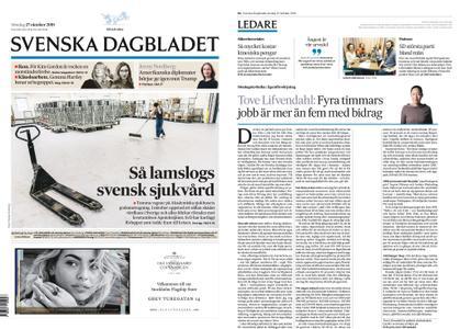 Svenska Dagbladet – 27 oktober 2019