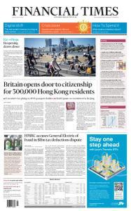 Financial Times UK - May 29, 2020