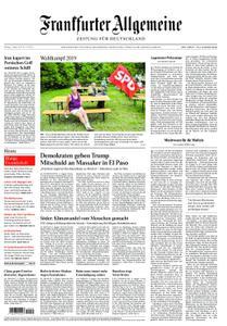 Frankfurter Allgemeine Zeitung F.A.Z. - 05. August 2019