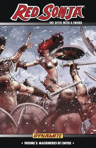 Dynamite-Red Sonja She Devil With A Sword Vol 10 Machineries Of Empire 2020 Hybrid Comic eBook