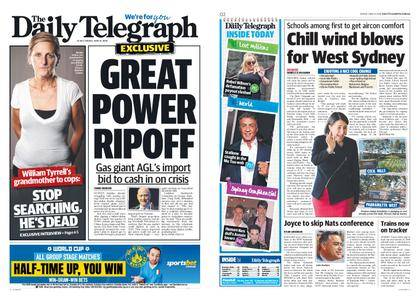 The Daily Telegraph (Sydney) – June 15, 2018