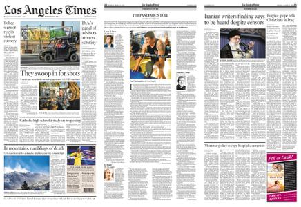 Los Angeles Times – March 08, 2021