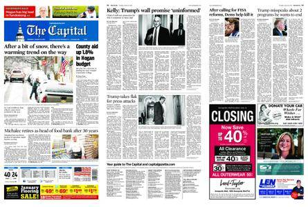 The Capital – January 18, 2018