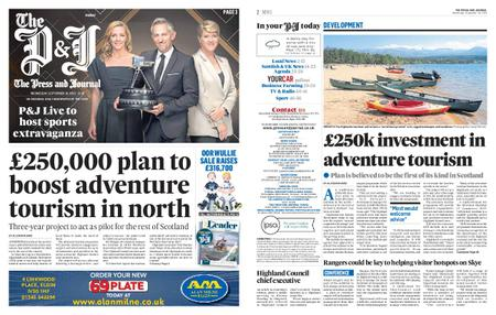 The Press and Journal Moray – September 18, 2019