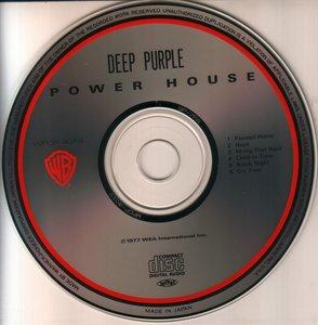 Deep Purple - Power House (1990) {Japan 1-st press}