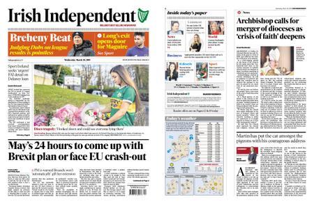 Irish Independent – March 20, 2019