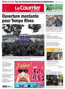 Le Courrier de l'Ouest Angers – 11 juillet 2019