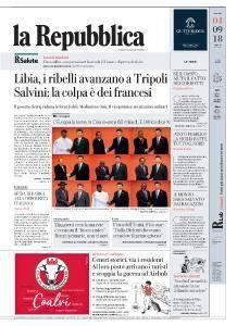 la Repubblica - 4 Settembre 2018