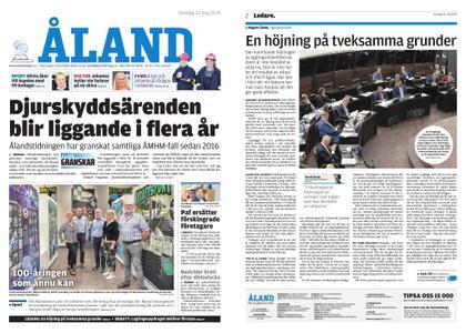 Ålandstidningen – 22 maj 2019