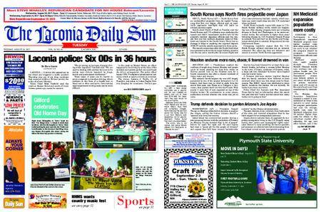 The Laconia Daily Sun – August 29, 2017
