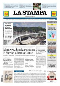 La Stampa Torino Provincia e Canavese - 17 Ottobre 2018