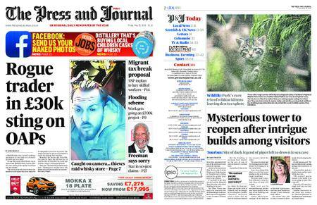 The Press and Journal Moray – May 25, 2018
