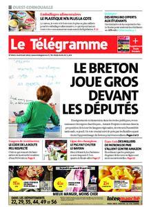 Le Télégramme Ouest Cornouaille – 08 avril 2021