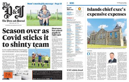 The Press and Journal Moray – June 04, 2021