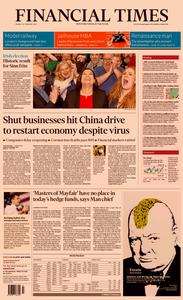 Financial Times UK – 10 February 2020