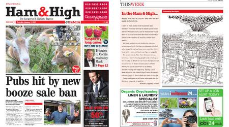 Ham & High – January 07, 2021