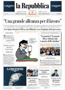 la Repubblica - 9 Dicembre 2019