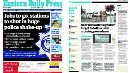 Eastern Daily Press – October 20, 2017