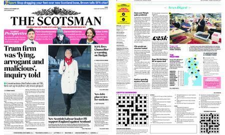 The Scotsman – November 21, 2017