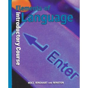 Elements of Language: Introductory Course